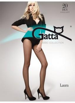 Жіночі колготи. Gatta Laura 20 DEN 5-XL