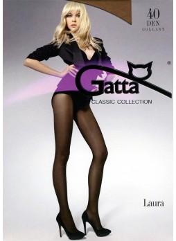 Жіночі колготи. Gatta Laura 40 DEN 5-XL